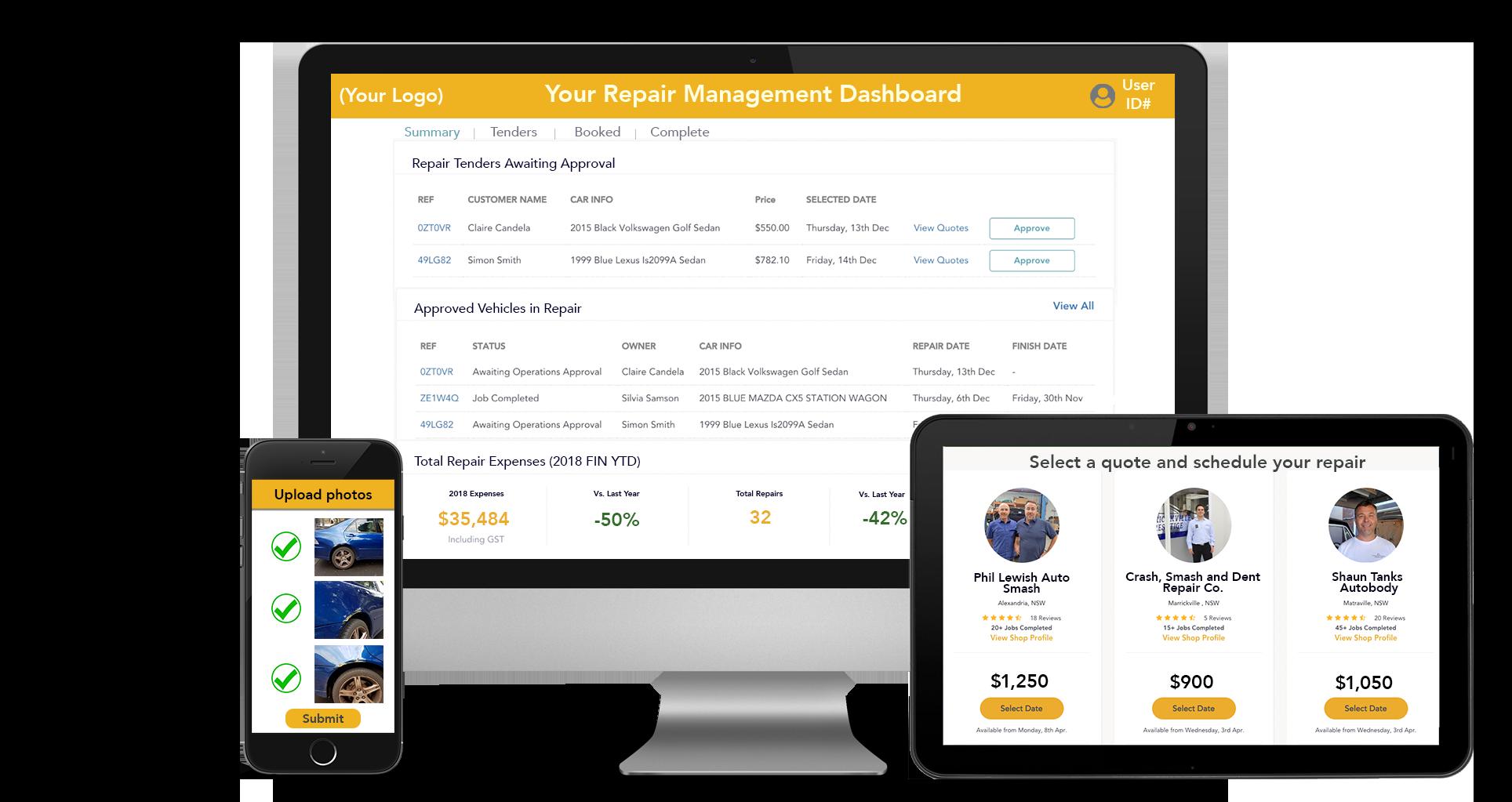 DingGo Digital Fleet Management Portal