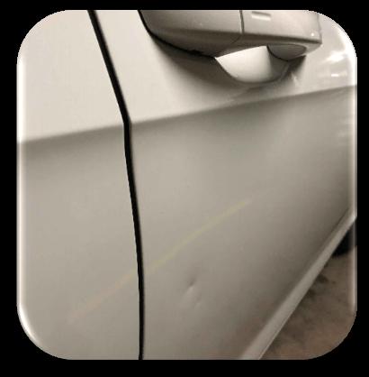 Dented Car Door