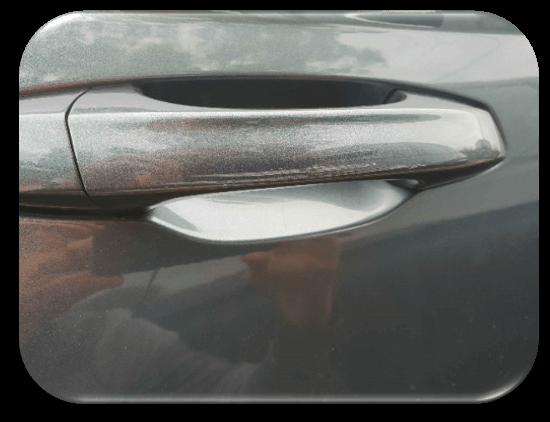 Damaged Car Door Handle