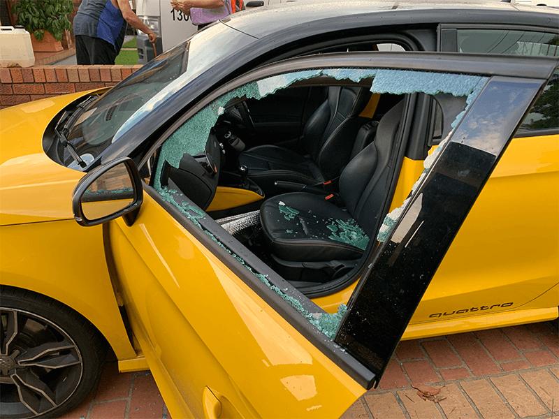 car break in prevention window