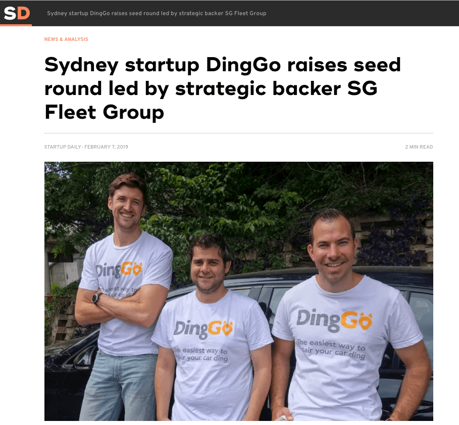 DingGo Startup Daily Article