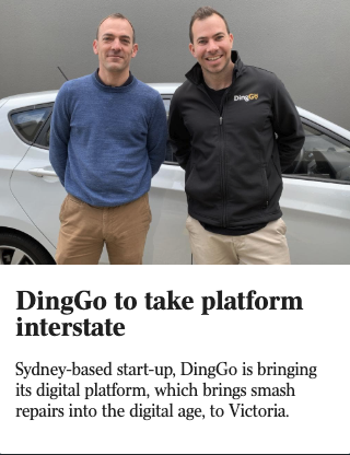 DingGo Article in The Australian