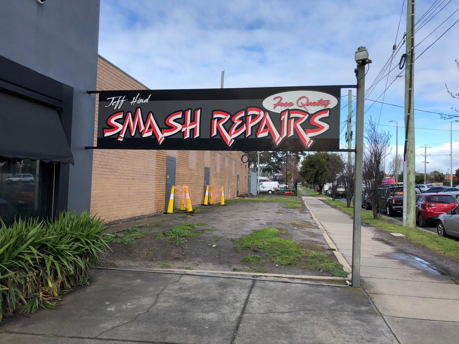 Jeff Hind Smash Repairs Photos