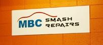 YG & MBC Smash Repair Logo