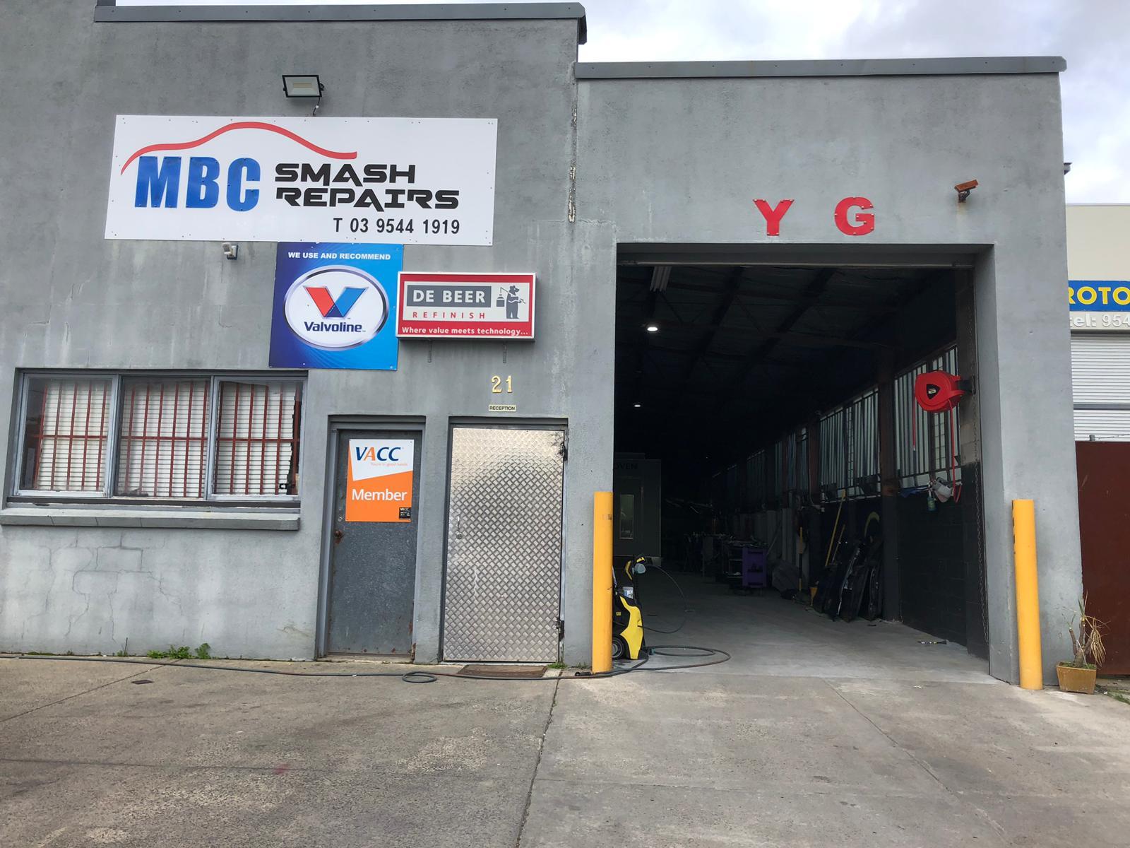 YG & MBC Smash Repair Photos