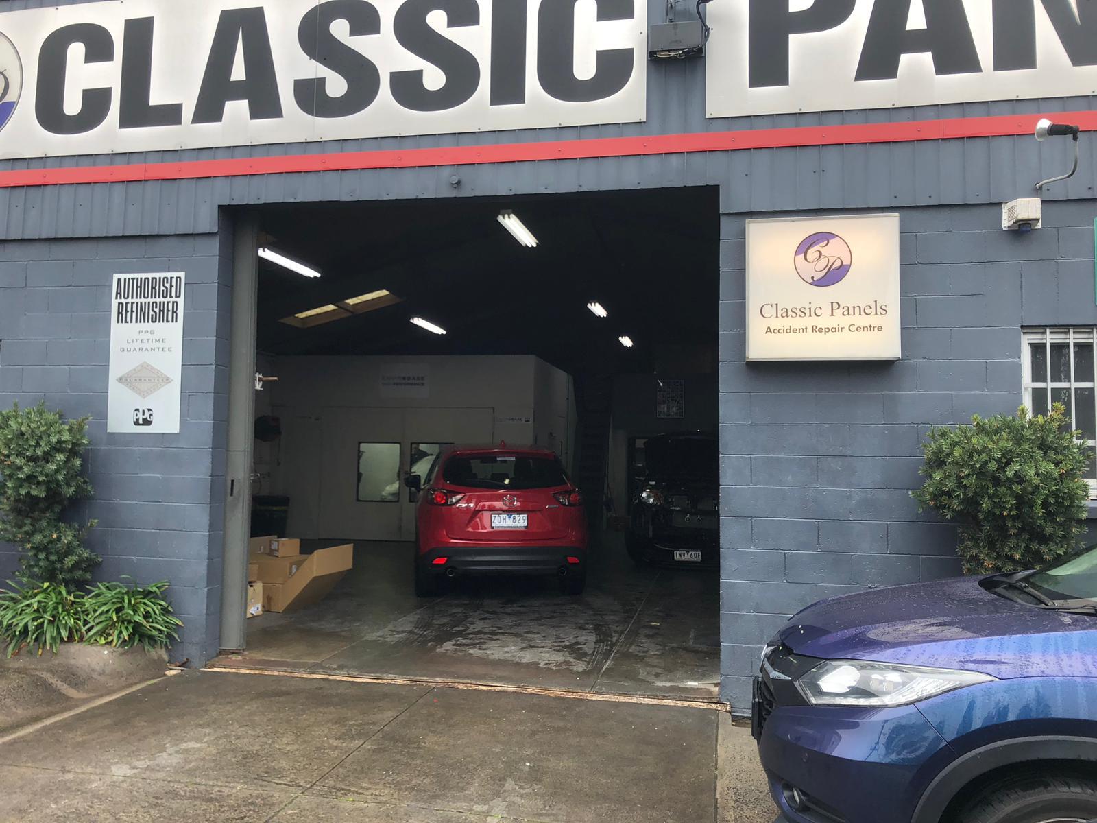 Classic Panels Accident Repair Centre Photos