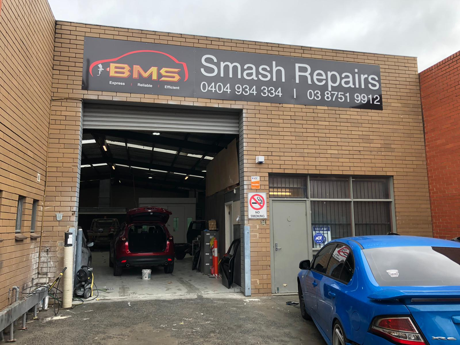 BMS Smash Repairs Photos