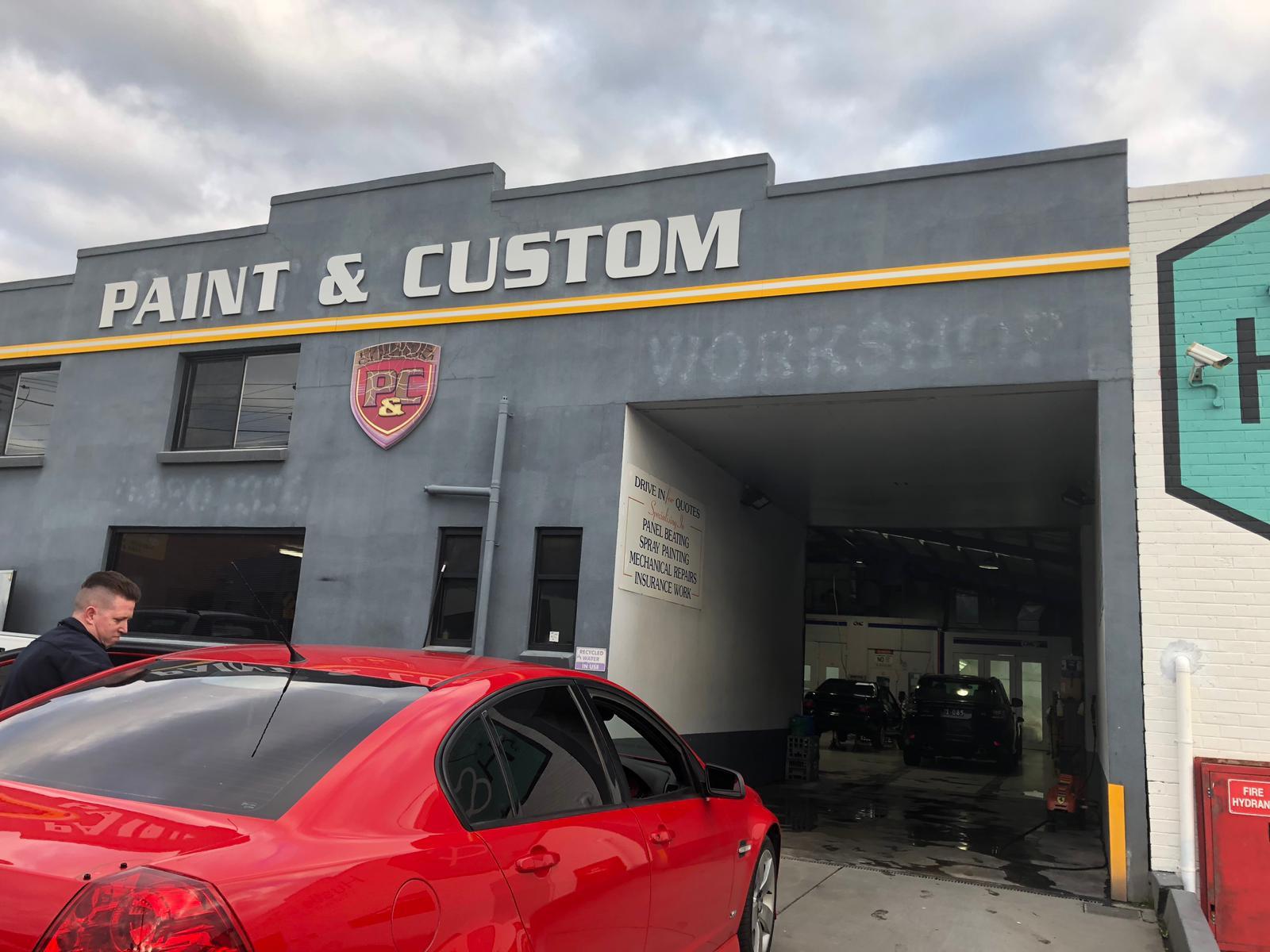 Paint and Custom Photos