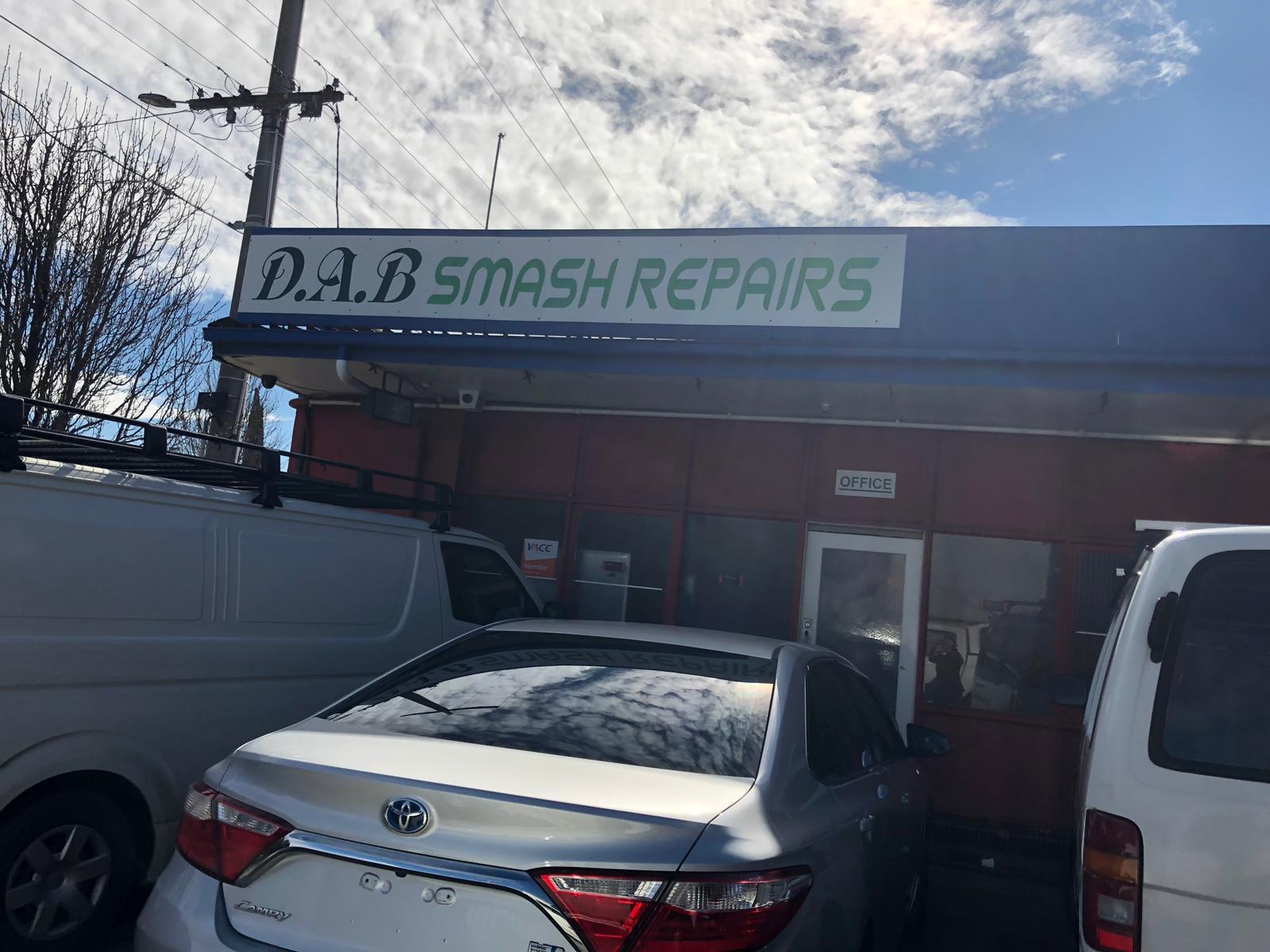 D.A.B. Smash Repairs Photos