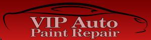 VIP Auto Paint Repair Logo