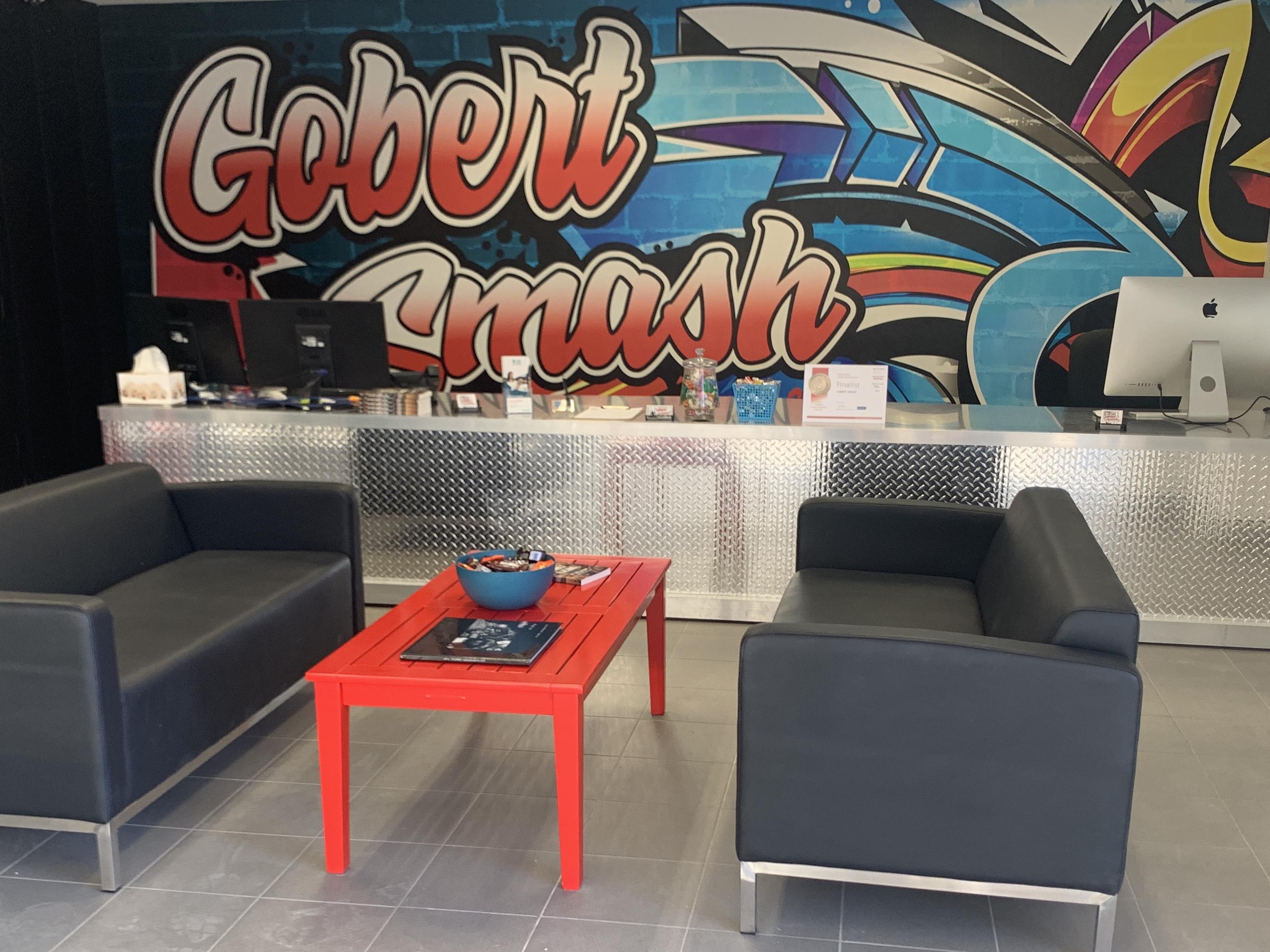 Gobert Smash Photos