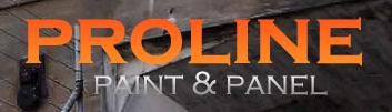 Proline Paint & Panel Logo