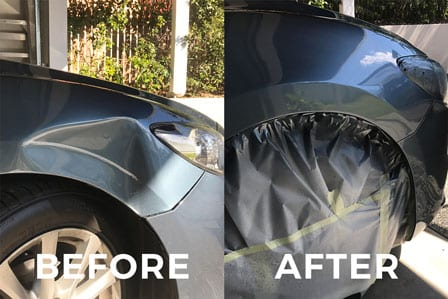 Brisbane Budget Bumper Repairs  Photos