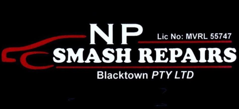 NP Smash Repairs Blacktown Logo