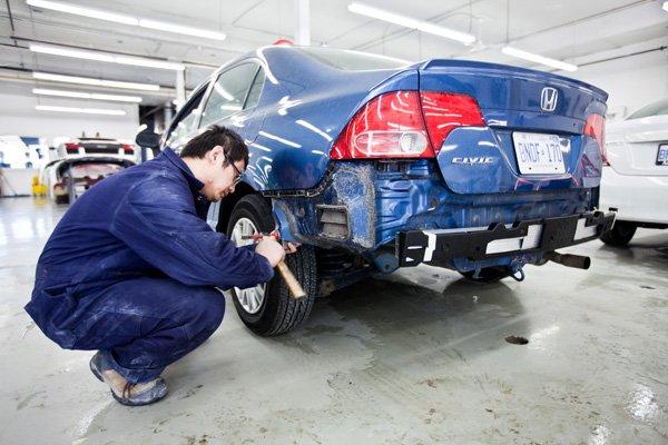 Economy  Crash Repairs  Photos