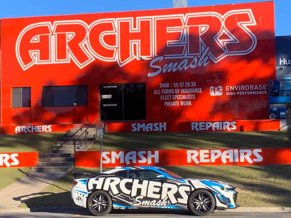 Archers Smash Repairs Photos