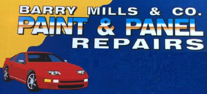 Barry Mills and Co. Paint and Panel Repairs Logo