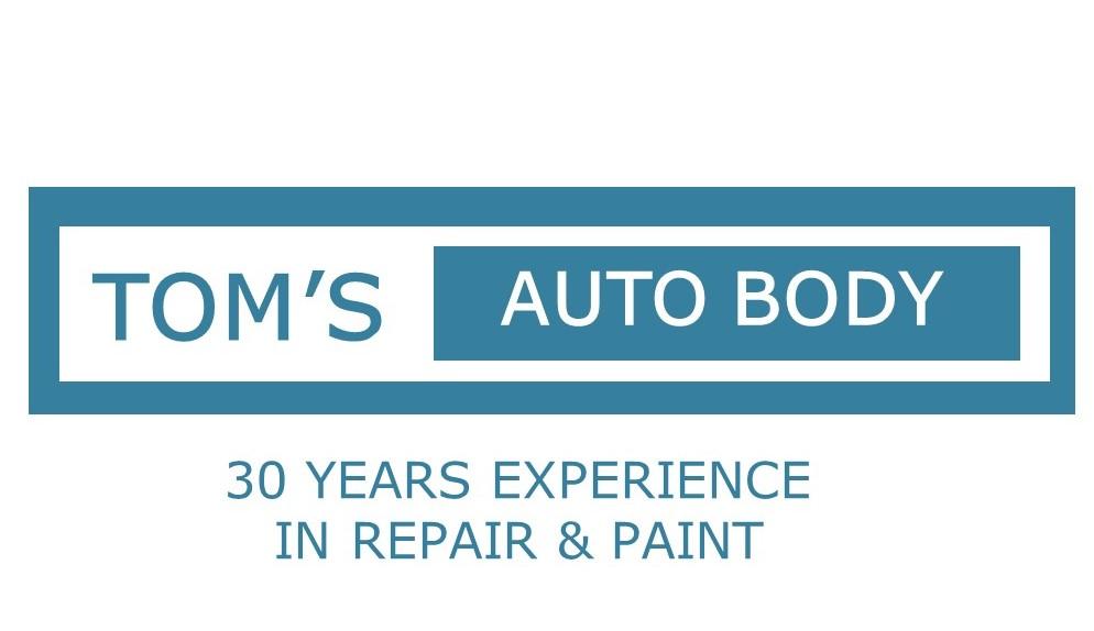 Tom's Auto Body Logo
