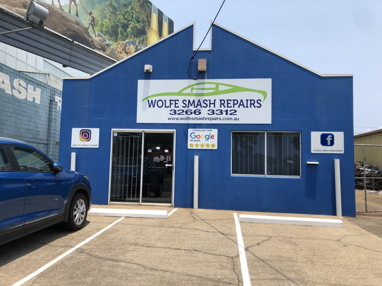 Wolfe Smash Repairs Photos