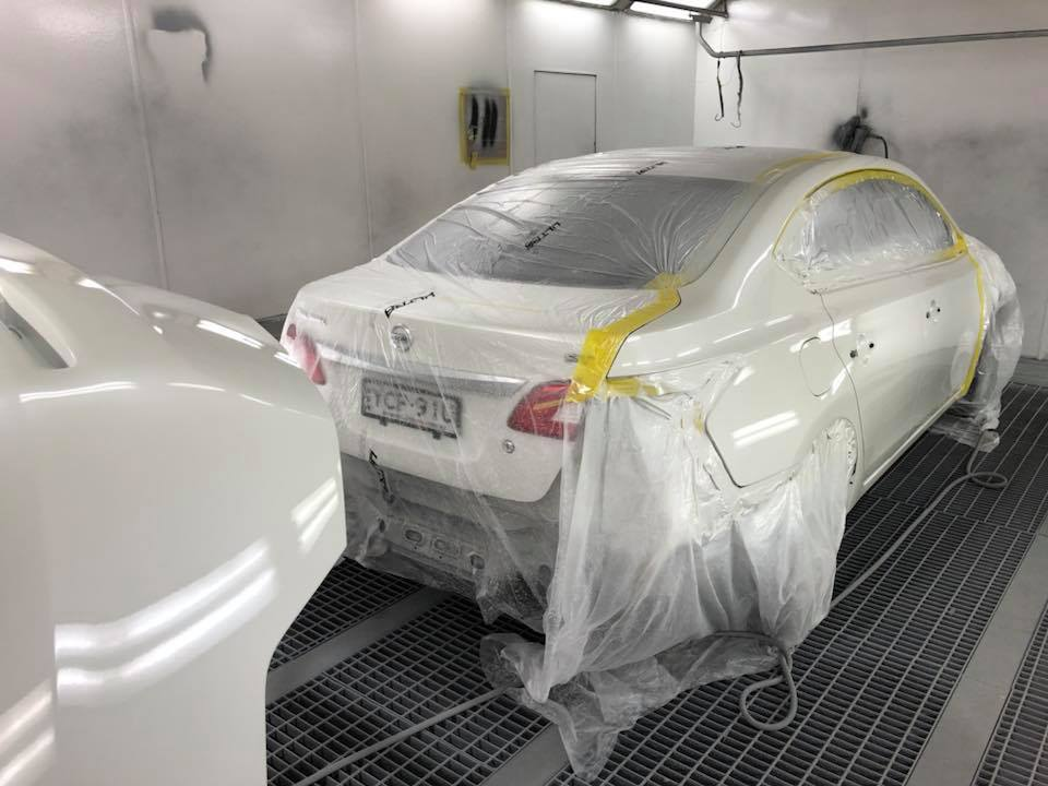 Totally Smashed Body Repairs Photos