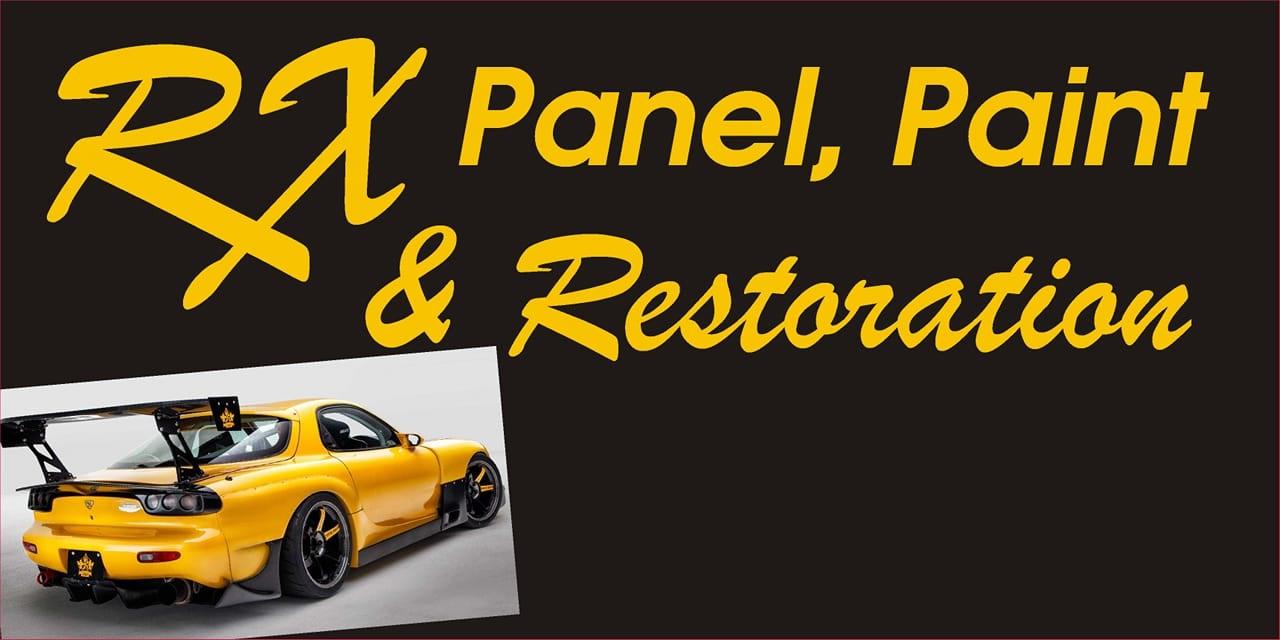 RX Panel, Paint & Restoration Logo