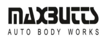 Maxbutts Auto Body Works Logo