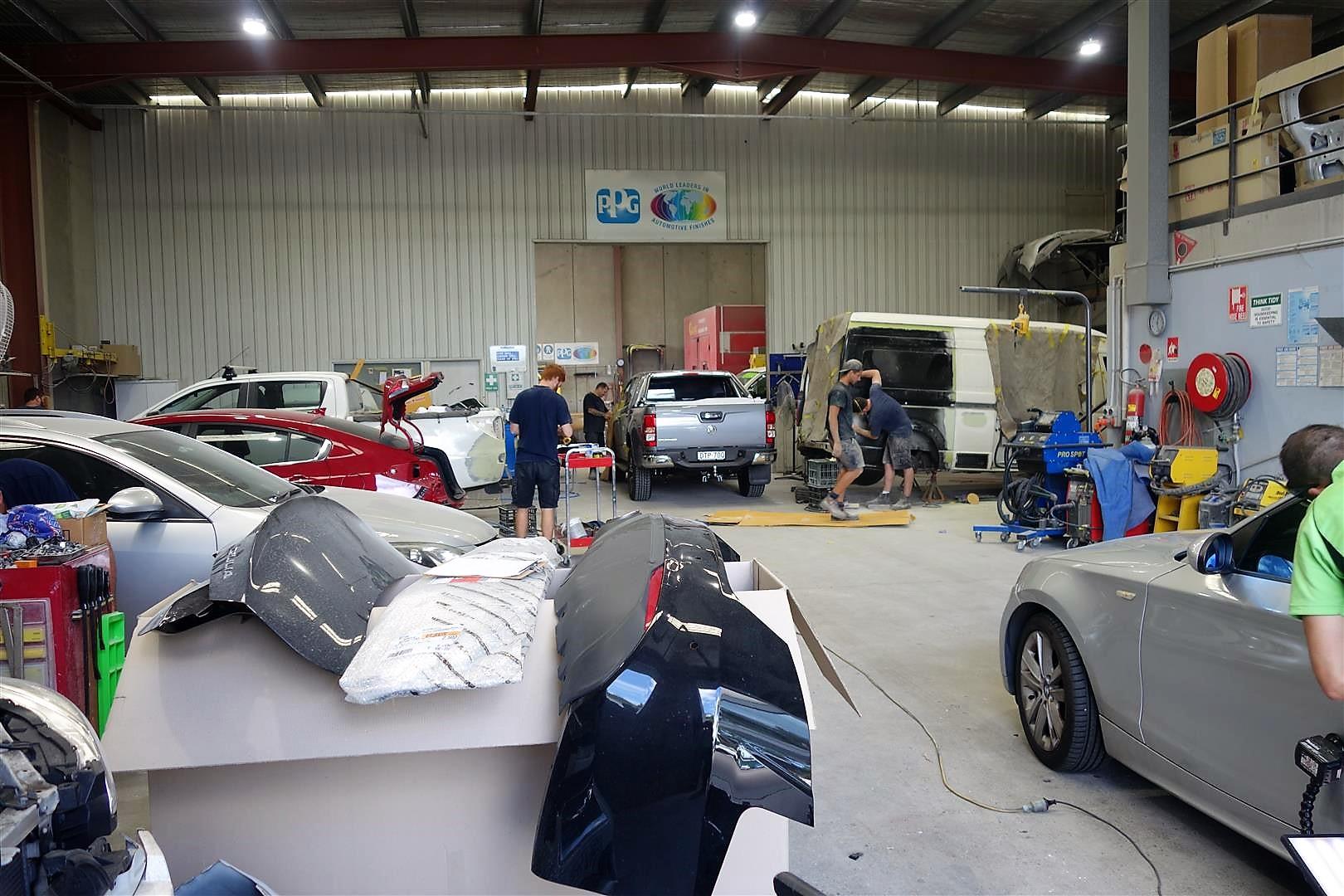 Keith Burrows Auto Body Repairs Photos