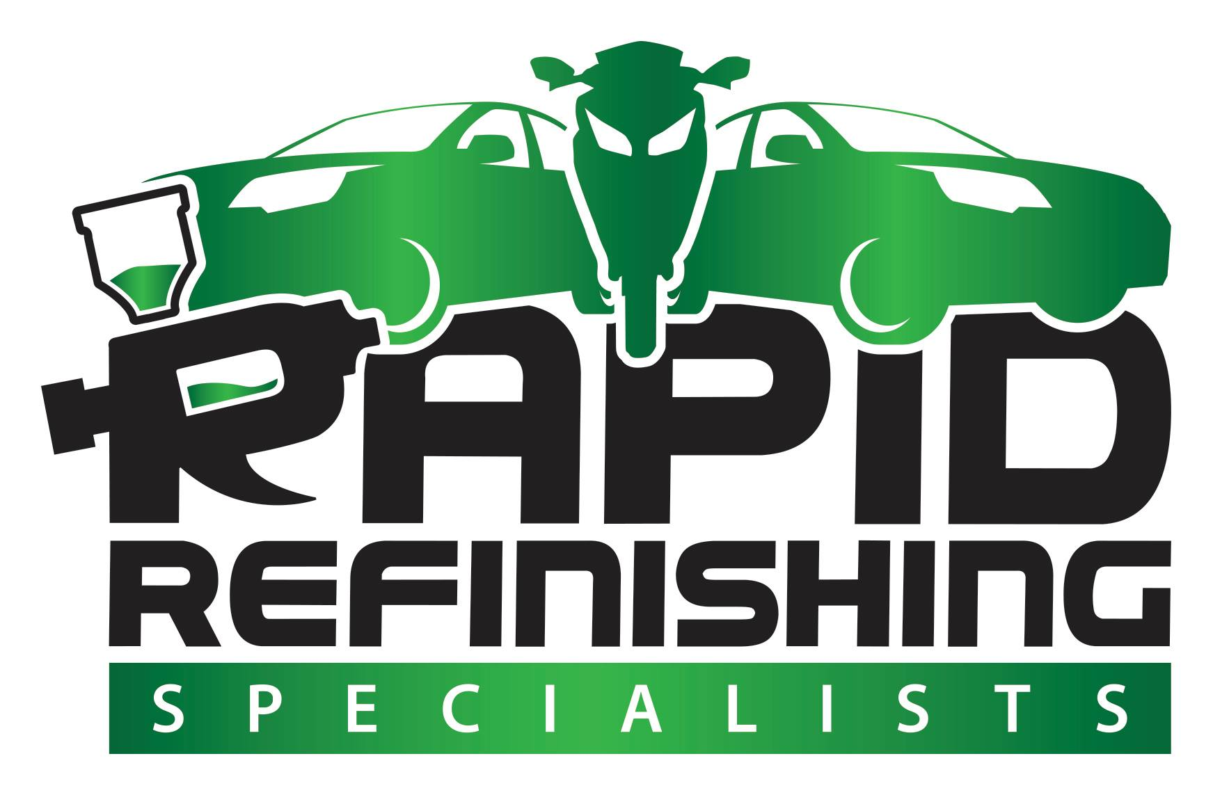The Rapid Refinishing Specialists Logo