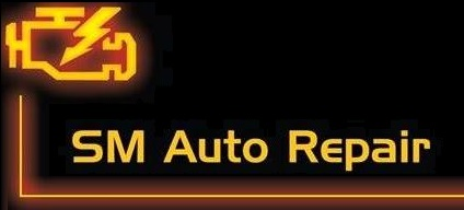 SM Auto Repair Centre Logo