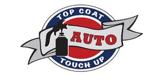 Top Coat Auto Touch Up Spray Painting Logo