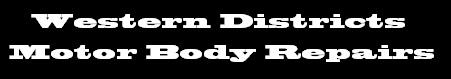Western Districts Motor Body Repairs Logo