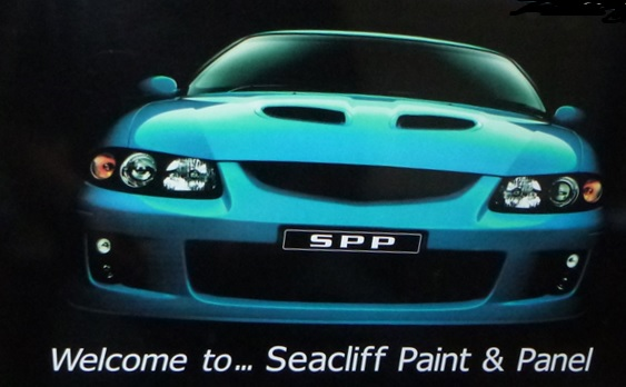 Seacliff Paint & Panel Logo