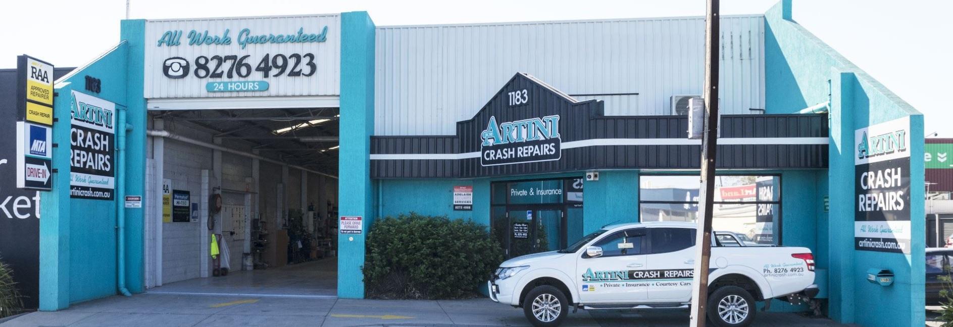 Artini Crash Repairs Photos