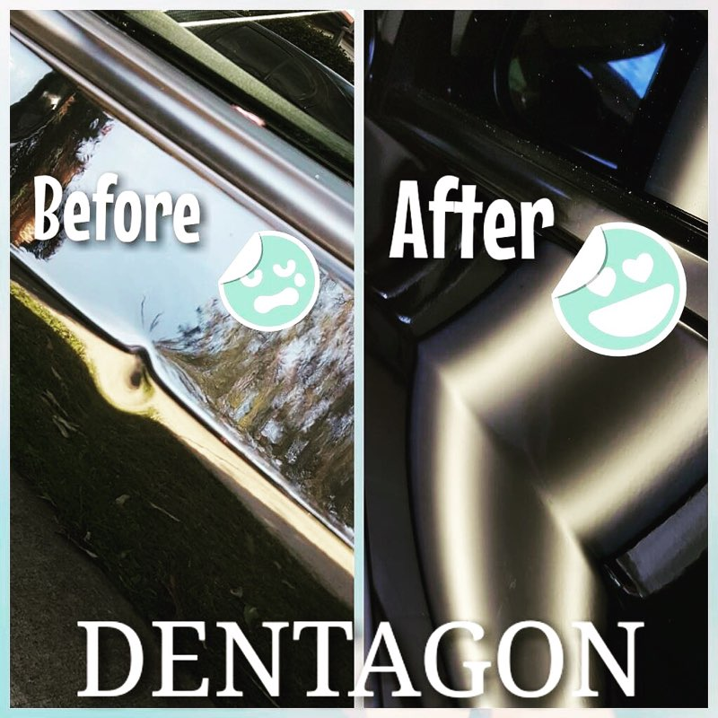 Dentagon Paintless Dent Removal Photos