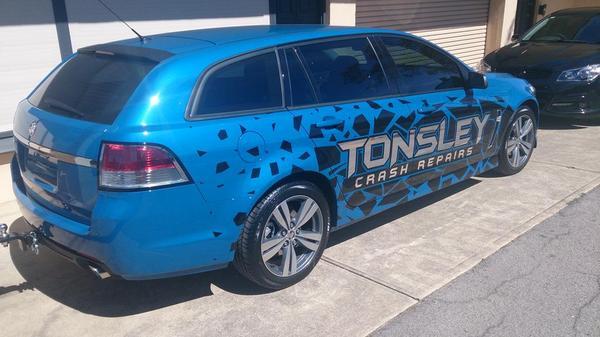 Tonsley Crash Repairs Photos