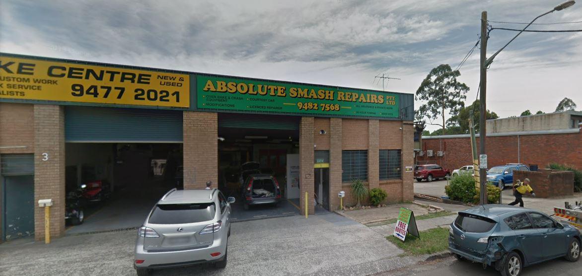 Absolute Smash Repairs Photos