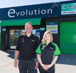 Evolution Crash Repairs