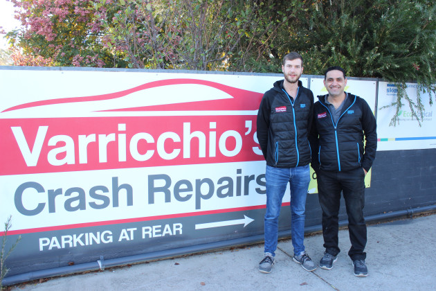 Varricchio's Crash Repairs Photos