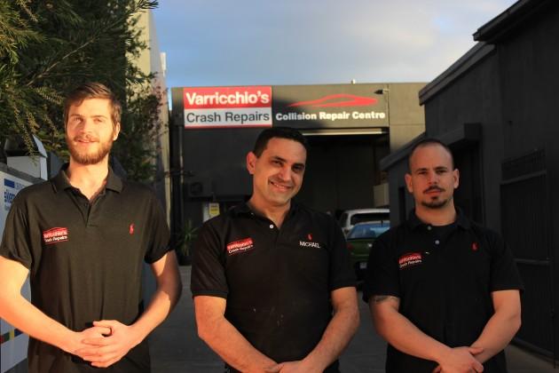 Varricchio's Crash Repairs Photos