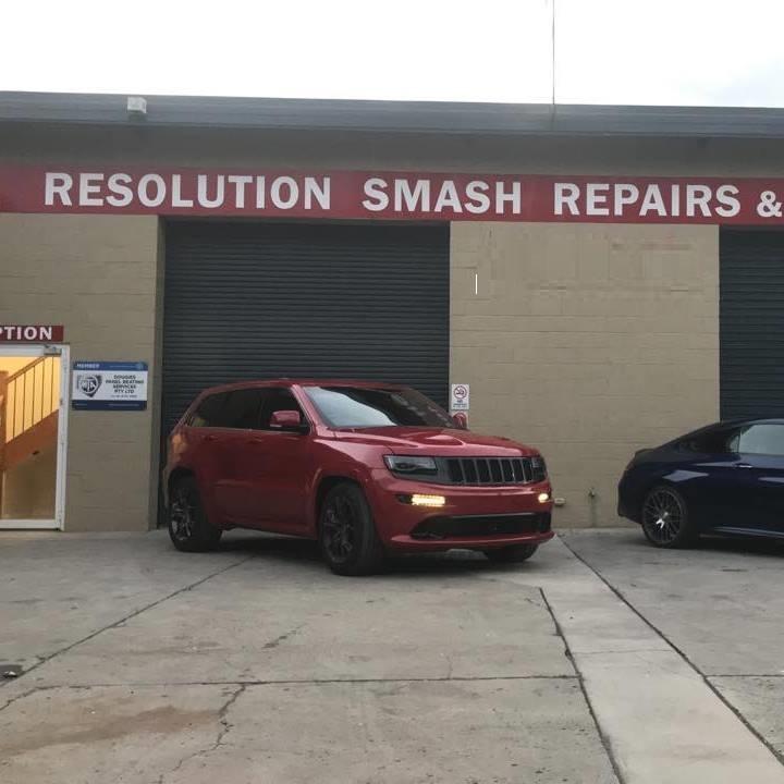 Resolution Smash Repairs & Restoration Photos