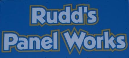 Rudd's Panel Works Logo