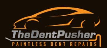 The Dent Pusher  Logo