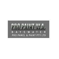 Pro Paint W.A  Logo