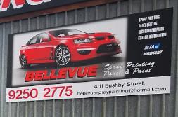 Bellevue Spray Painting Logo