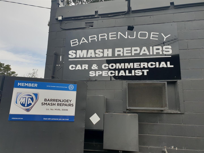 Barrenjoey Smash Repairs Photos