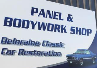 Deloraine Classic Car Restorations Logo