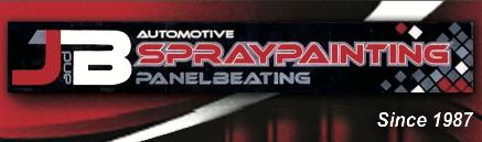 J&B Automotive Spray Painting Logo