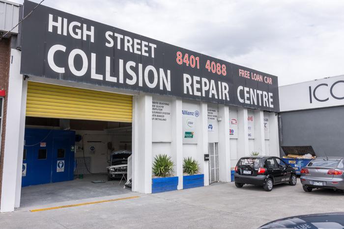 High Street Collision Repair Photos