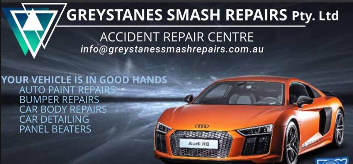 Greystanes Smash Repairs Logo