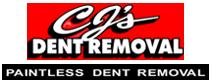 CJ's Dent removal Logo
